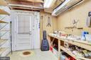 Workshop Space in Utility Room - 9600 GLENARM CT, BURKE
