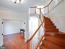 Hardwood foyer - 20443 STONE SKIP WAY, STERLING