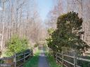 Neighborhood path to the Potomac River - 20443 STONE SKIP WAY, STERLING