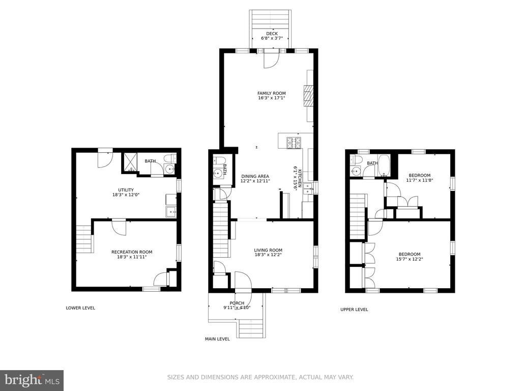 Floor Plans - All Levels - 8 E CHAPMAN ST, ALEXANDRIA
