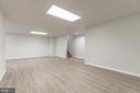 Unfinished storage here also - 43446 RANDFIELD LN, CHANTILLY