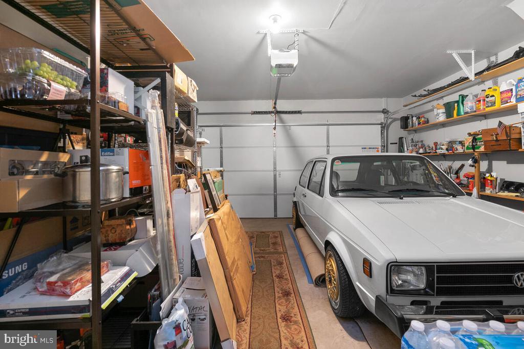 Two Car Garage, used for storage - 18022 ROCKINGHAM PL, GERMANTOWN