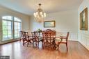 Dining Room - 10515 VALE RD, OAKTON