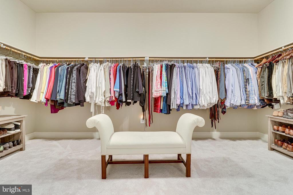 Master Suite Closet - 10515 VALE RD, OAKTON