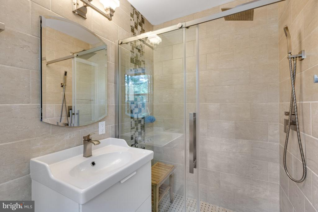 Owners Suite Bath:  Improved in 2020 - 10 LODGE PL, ROCKVILLE