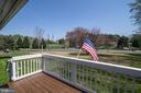 View from front deck looking  at Curtis Park - 463 HARTWOOD RD, FREDERICKSBURG