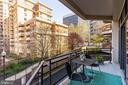 Second space to entertain off kitchen - 1530 KEY BLVD #128, ARLINGTON