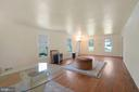 High ceiling and extra windows for terrific light - 11935 RIDERS LN, RESTON