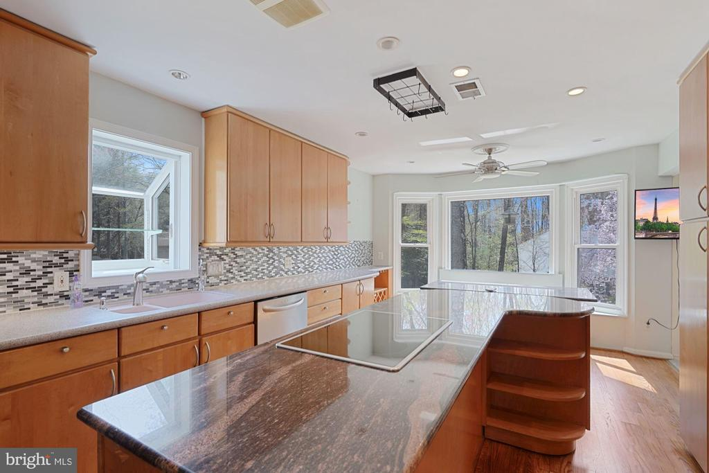 Extra recessed lighting; hardwood floors - 11935 RIDERS LN, RESTON