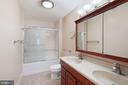 Updated hall bath - 11935 RIDERS LN, RESTON