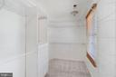 Huge master closet with window - 11935 RIDERS LN, RESTON