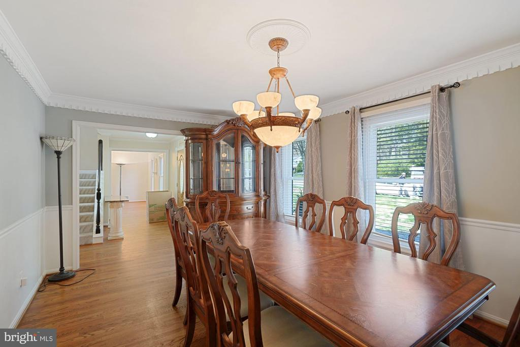Open floorplan - 11935 RIDERS LN, RESTON