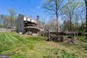 Massive fully fenced backyard - 11935 RIDERS LN, RESTON