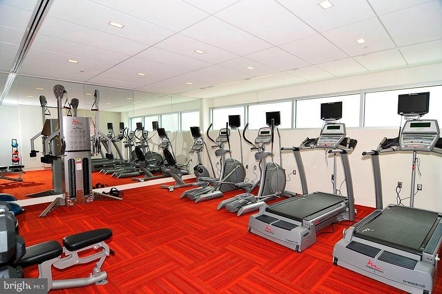 Fitness room - 1177 22ND ST NW #4G, WASHINGTON