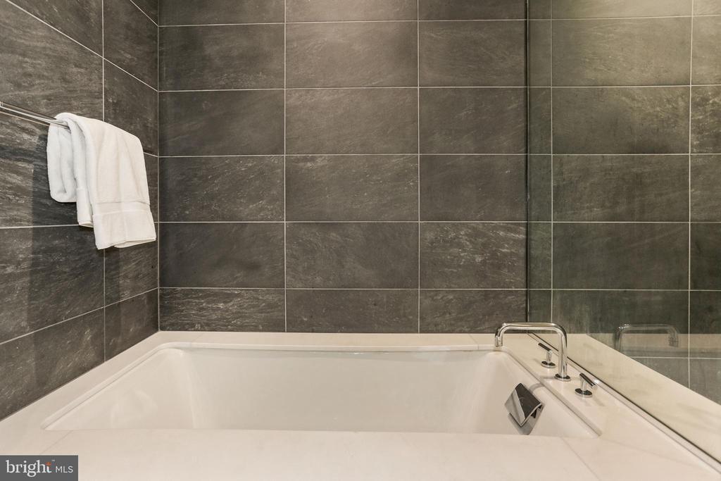 Master bath soaking tub - 1177 22ND ST NW #4G, WASHINGTON