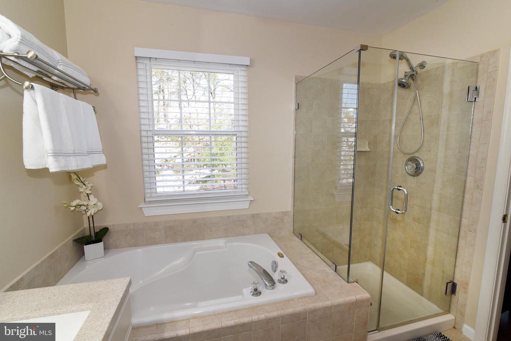 Luxuriate in Your Primary Bathroom. - 47641 WEATHERBURN TER, STERLING