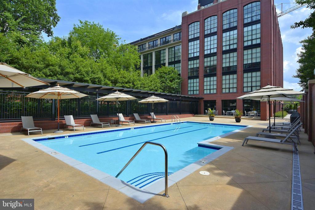 Amenity: Pool - 1615 N QUEEN ST #M204, ARLINGTON