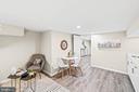 Basement kitchen - 1003 FLORIDA AVE NE, WASHINGTON