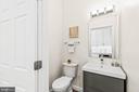 Main Level Powder Room - 1003 FLORIDA AVE NE, WASHINGTON