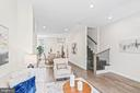 Large Open Floor Plan, 2021 renovation - 1003 FLORIDA AVE NE, WASHINGTON