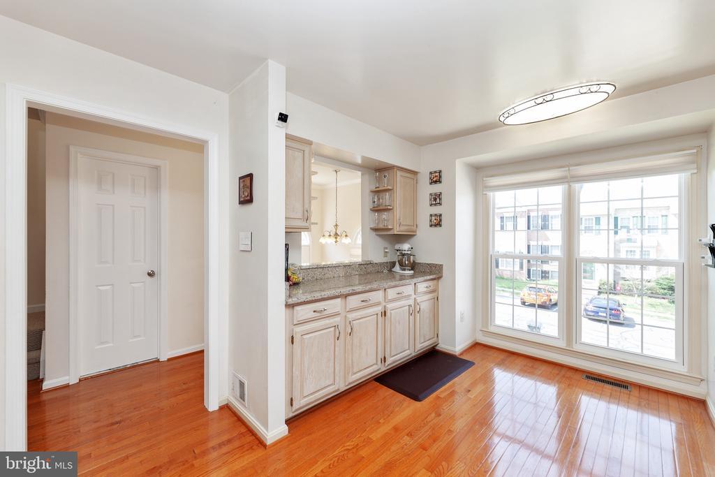 Kitchen - 6407 BRASS BUTTON CT, CENTREVILLE