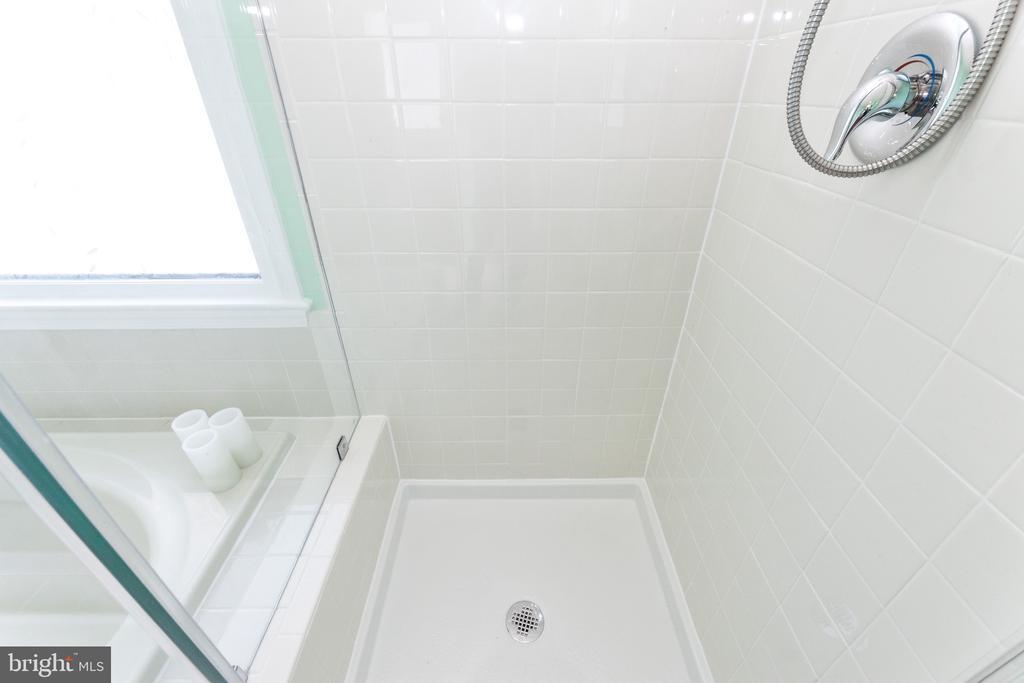 Master shower - 6407 BRASS BUTTON CT, CENTREVILLE