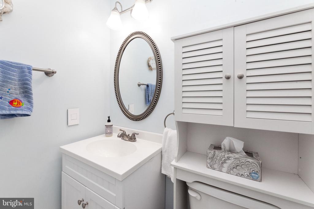 Hall bath - 6407 BRASS BUTTON CT, CENTREVILLE
