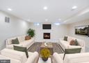 Recreation room - virtually staged - 20443 STONE SKIP WAY, STERLING