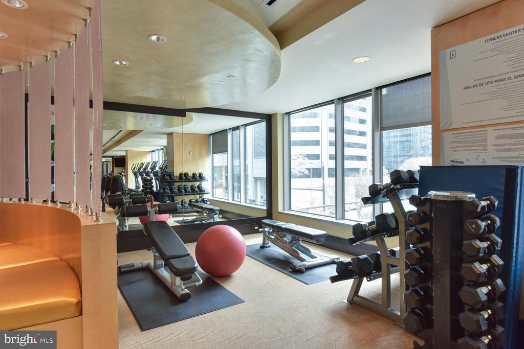 Free Weights, LifeFitness and Cybex Equipment - 1111 19TH ST N #2006, ARLINGTON