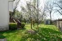 Fenced backyard - 5316 DUNLEIGH DR, BURKE
