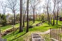 Creek runs through the backyard - 847 WHANN AVE, MCLEAN