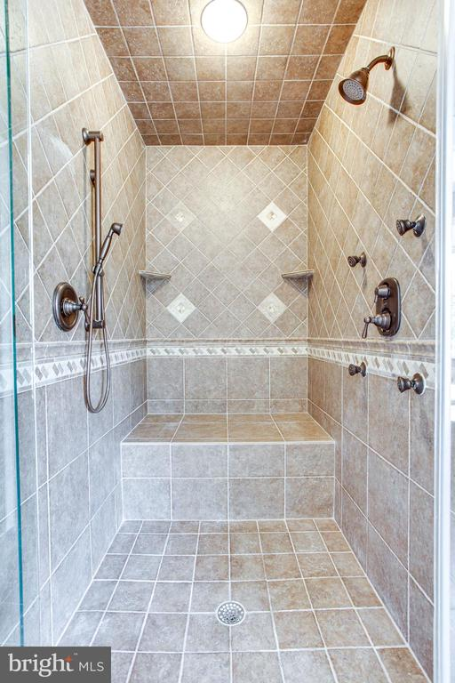 Large shower with two shower heads - 847 WHANN AVE, MCLEAN