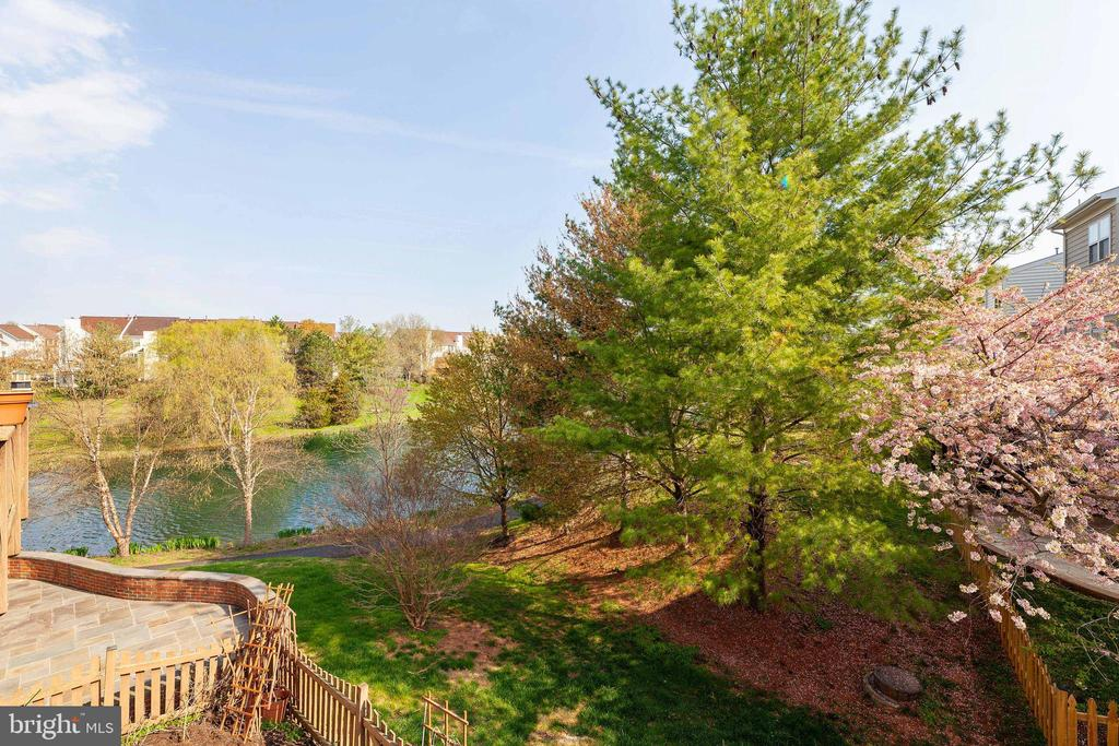 Lake View from Deck - 21262 VICTORIAS CROSS TER, ASHBURN