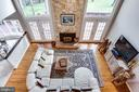 View of the great room - 847 WHANN AVE, MCLEAN