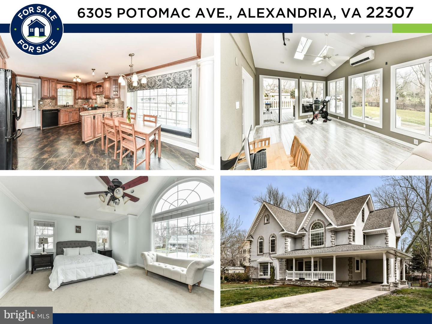 6305 POTOMAC AVENUE, ALEXANDRIA, Virginia 22307, 5 Bedrooms Bedrooms, ,4 BathroomsBathrooms,Residential,For Sale,POTOMAC,VAFX1192484
