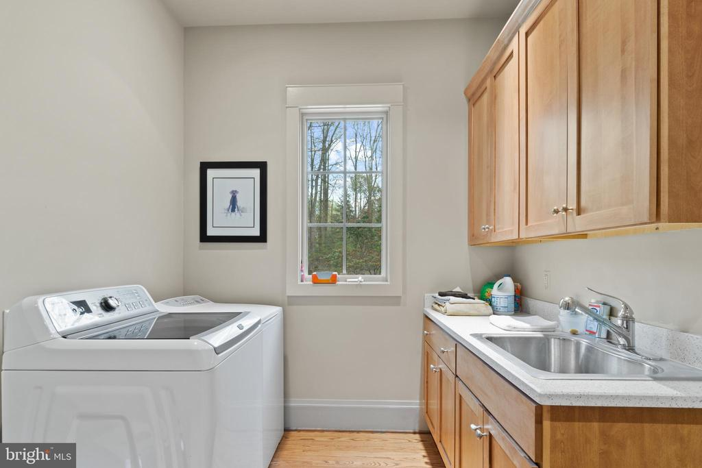 Spacious Laundry Room - 817 MACKALL, MCLEAN