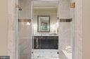 Dual sided glass shower - 817 MACKALL, MCLEAN