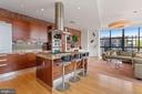 Scavoli Cabinetry/Island with Seating - 1413 P ST NW #302, WASHINGTON