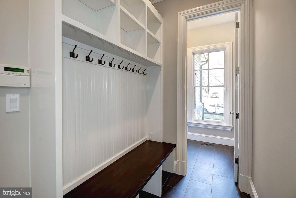 Mudroom with Pantry Closet - 7205 ELIZABETH DR, MCLEAN