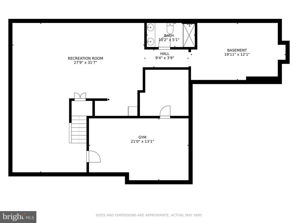 Lower Level Floor Plan - 42969 DEER CHASE PL, ASHBURN