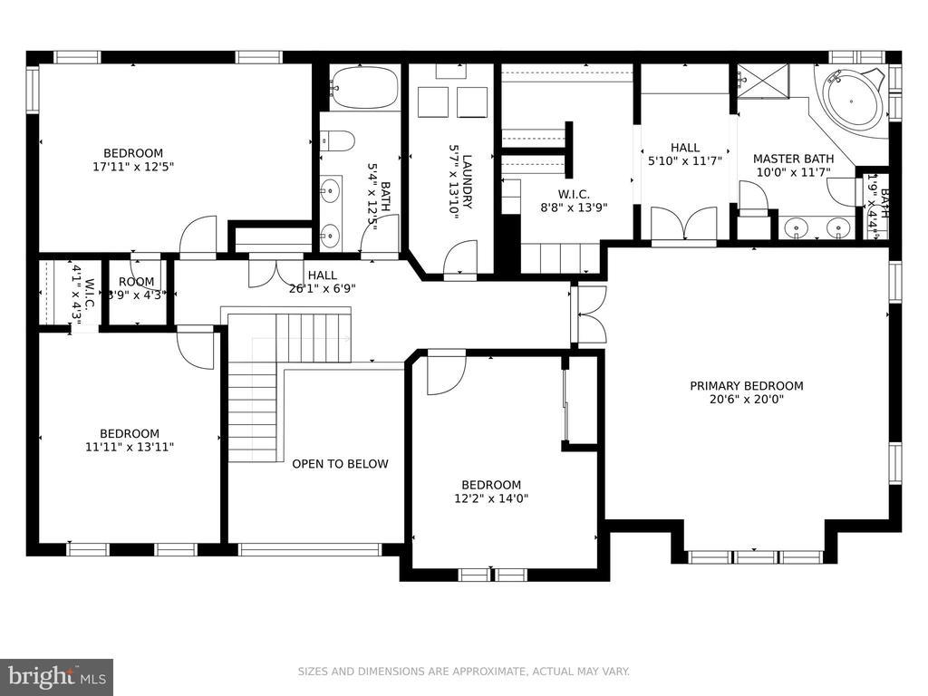 Main Level Floor Plan - 42969 DEER CHASE PL, ASHBURN