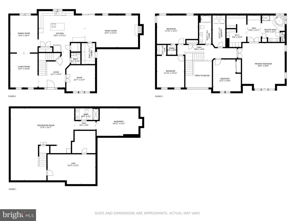 Floor Plans - 42969 DEER CHASE PL, ASHBURN