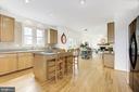Open-concept, Gourmet Kitchen - 42969 DEER CHASE PL, ASHBURN