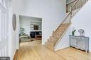 Foyer and Formal Living Room - 42969 DEER CHASE PL, ASHBURN