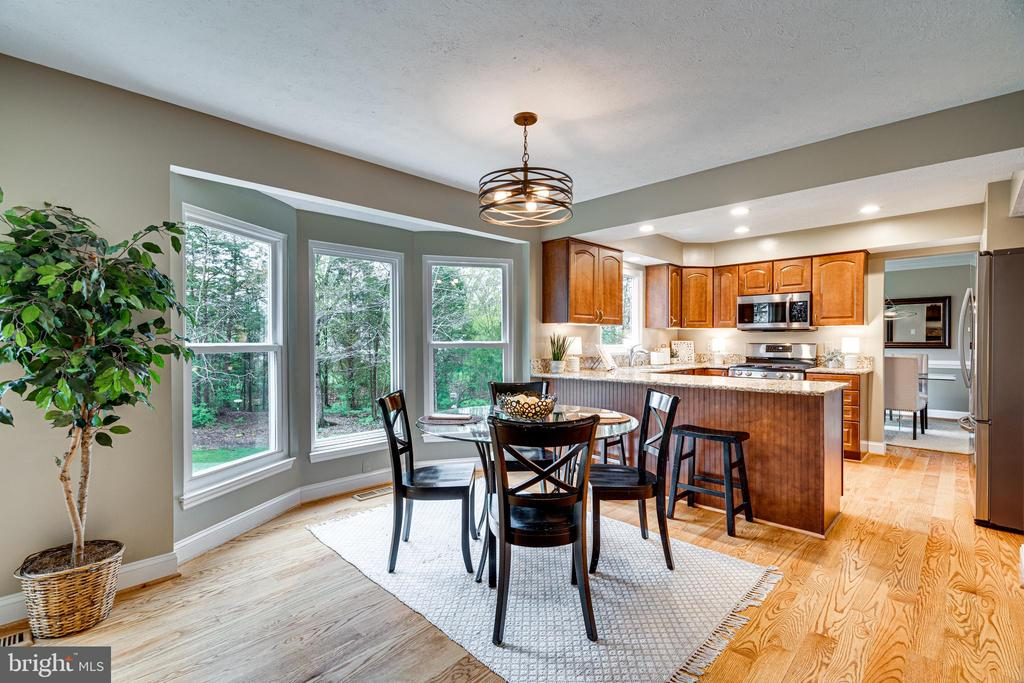 and from your kitchen table, look at those windows - 14721 PICKETS POST RD, CENTREVILLE