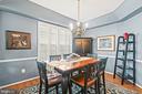 Dining Room - 4170 MCCLOSKEY CT, CHANTILLY