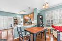 Combination Dining and Living Room - 42791 FLANNIGAN TER, CHANTILLY