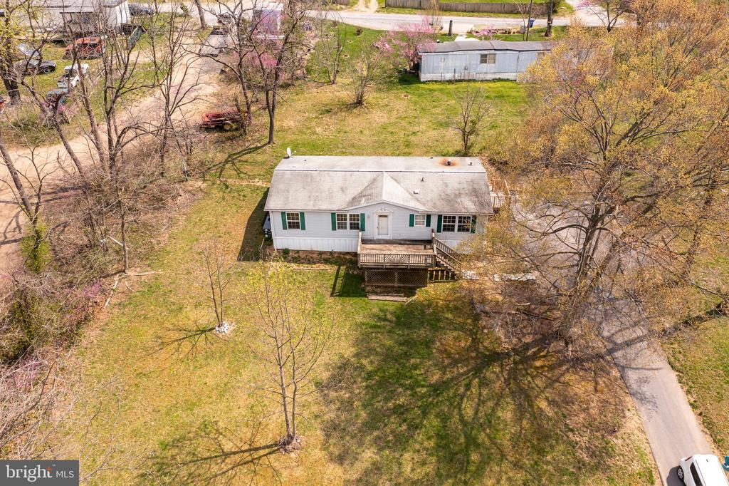 Aerial view gives you great view of your lot - 53 CAMP HILL LN, HARPERS FERRY