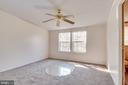 Master bedroom is quite large with bright window, - 53 CAMP HILL LN, HARPERS FERRY
