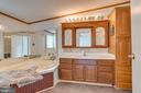 The ensuite bath features an extended single bowl - 53 CAMP HILL LN, HARPERS FERRY